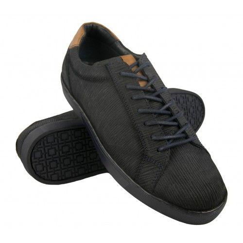 Sneakers basse in pelle con lacci Zerimar - 1
