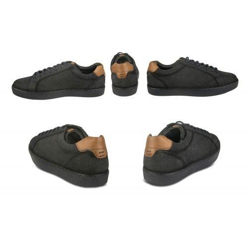 Sneakers basse in pelle con lacci Zerimar - 2