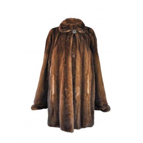 Cappotto lungo in visone demi buff Zerimar - 2