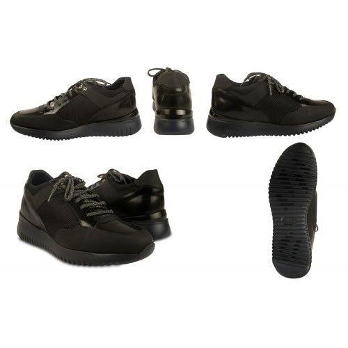 Sneakers con lacci con rialzo interno di 7 cm Zerimar - 2