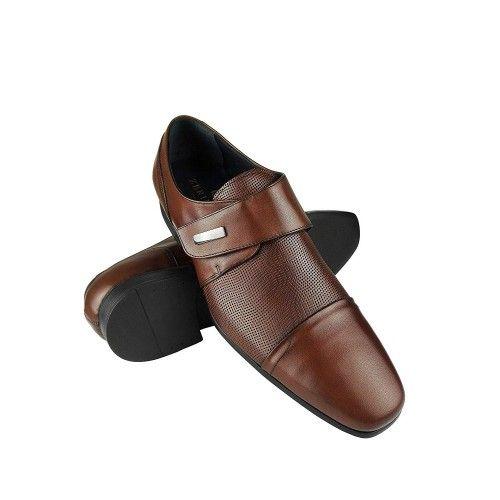 Scarpe eleganti in pelle per uomo in pelle Zerimar - 1