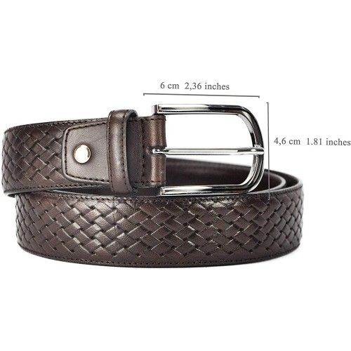 Cintura in pelle stile...
