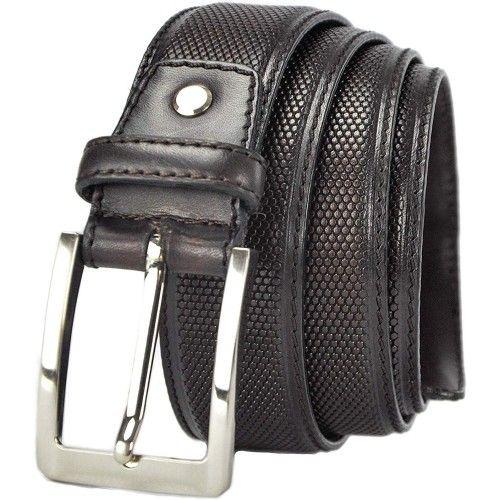 Cintura in pelle larga 4 cm...