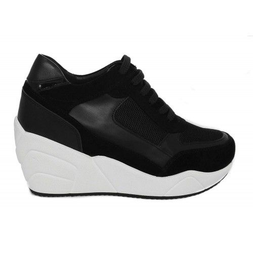 Scarpe sportive da donna con aumenti che ne aumentano l'altezza di 10 cm Zerimar - 2