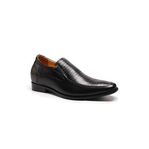 Scarpe classiche da uomo in pelle con rialzi di 7 cm Zerimar - 2