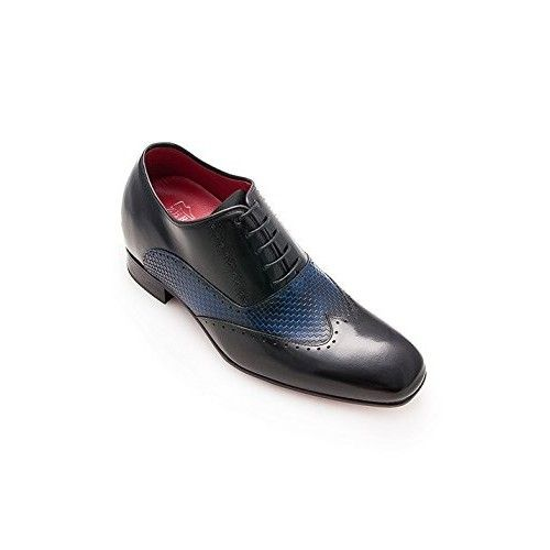 Scarpe eleganti con riser da 7 cm per uomo Zerimar - 2