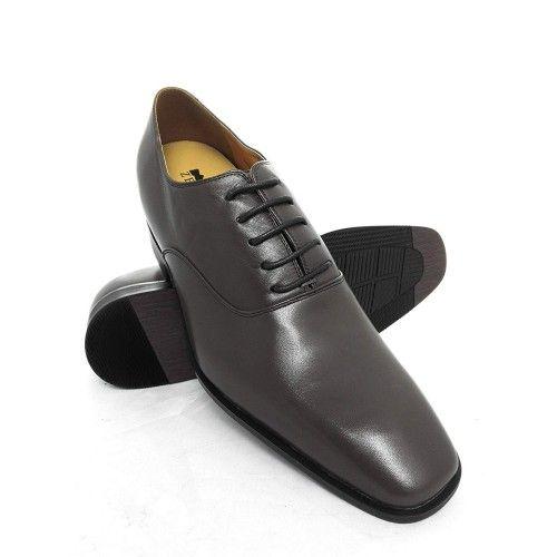 Scarpe eleganti da uomo con rialzi e lacci da 7 cm Zerimar - 1