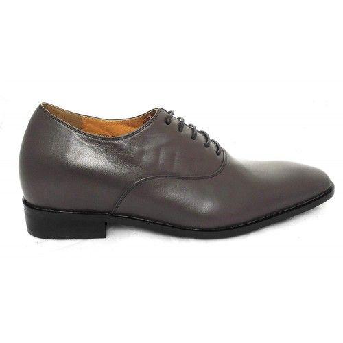 Scarpe eleganti da uomo con rialzi e lacci da 7 cm Zerimar - 2