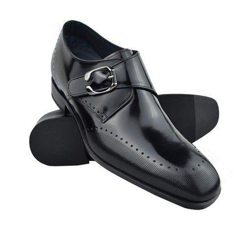 Scarpe eleganti con rialzo per uomo made in Spain Zerimar - 1