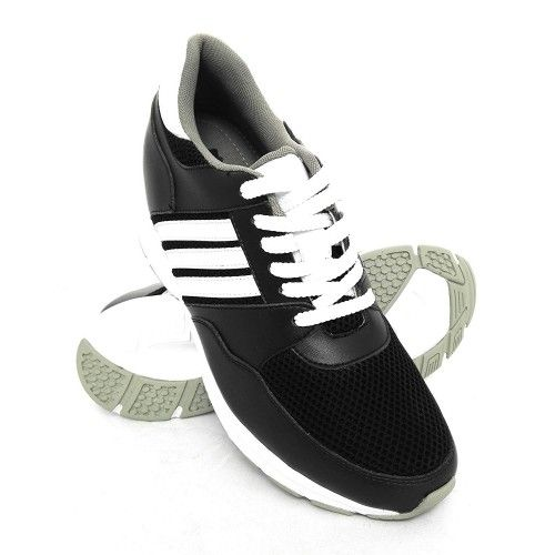 Scarpe sportive bianche con rialzo Zerimar - 1