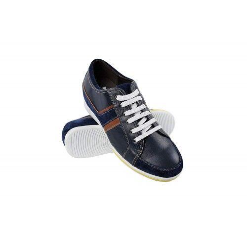 Scarpe casual con riser da 6 cm per uomo dallo stile casual Zerimar - 1