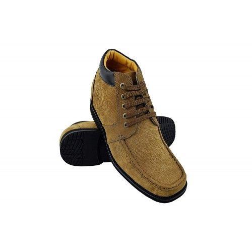 Stivali da uomo in pelle con rialzi interni di 9,5 cm Zerimar - 1