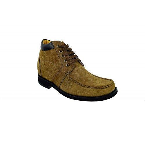 Stivali da uomo in pelle con rialzi interni di 9,5 cm Zerimar - 2