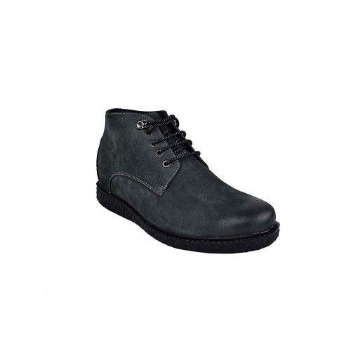 Stivali da uomo in pelle con rialzi interni aumentano di 6 cm Zerimar - 2
