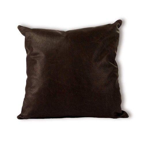 Cuscino in pelle di mucca di alta qualità 40x40 cm Zerimar - 2