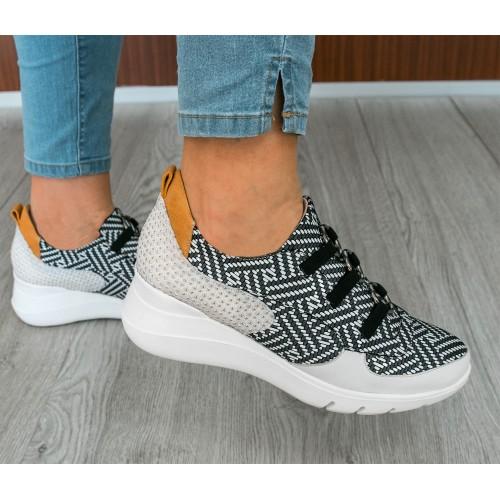 Sneakers da donna con chiusura elastica Zerimar - 2