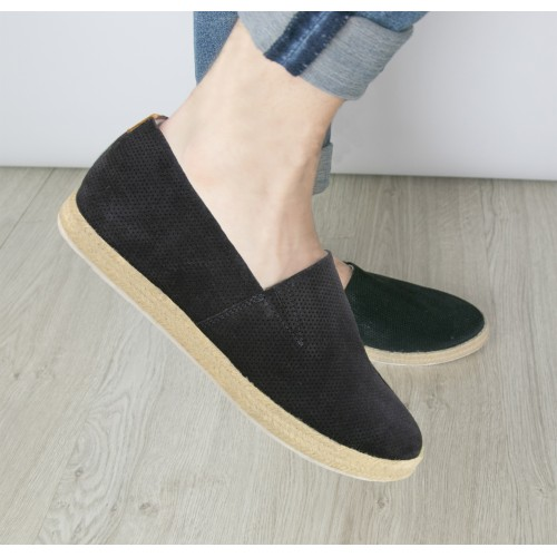 Espadrillas in pelle con...