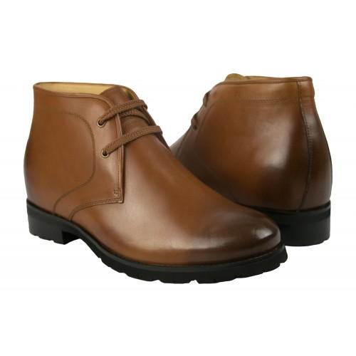 Stivali da uomo in pelle alta 7,5 cm Zerimar - 1