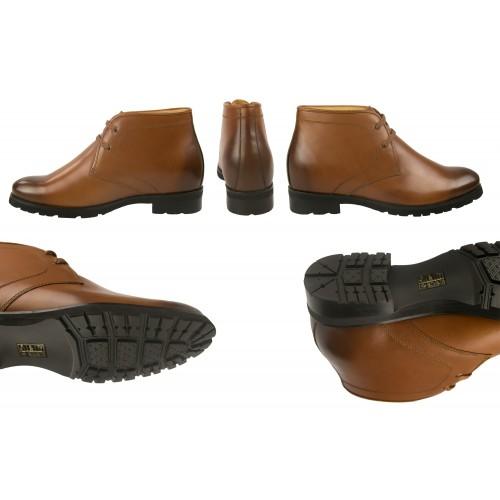 Stivali da uomo in pelle alta 7,5 cm Zerimar - 2