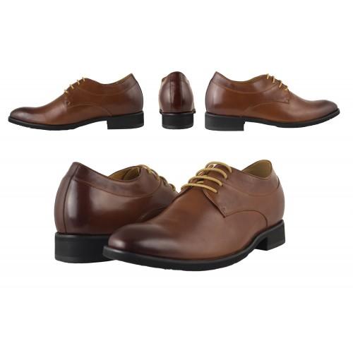 Scarpe eleganti con rialzi per uomo Zerimar - 2