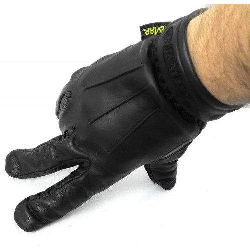 Guanto da moto in pelle naturale Kenrod - 2