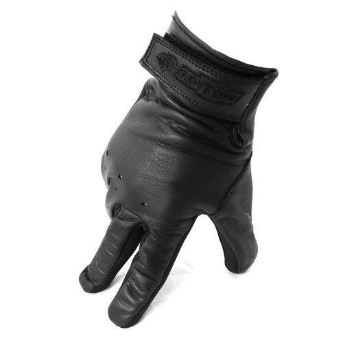Guanto da moto in pelle naturale con chiusura in velcro Kenrod - 1