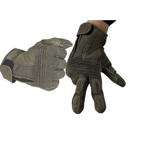 Guanti da moto in pelle con protezioni Kenrod - 1