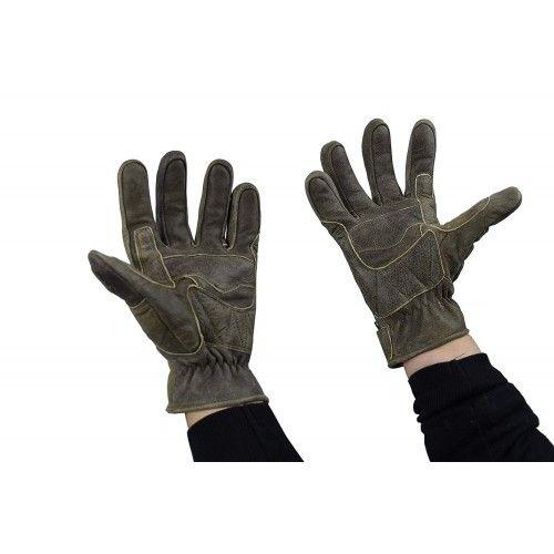 Guanti da moto in pelle con protezioni Kenrod - 2