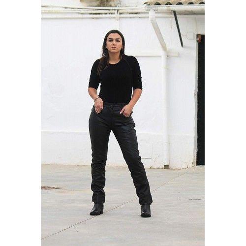 Pantaloni in pelle lunghi Zerimar - 1