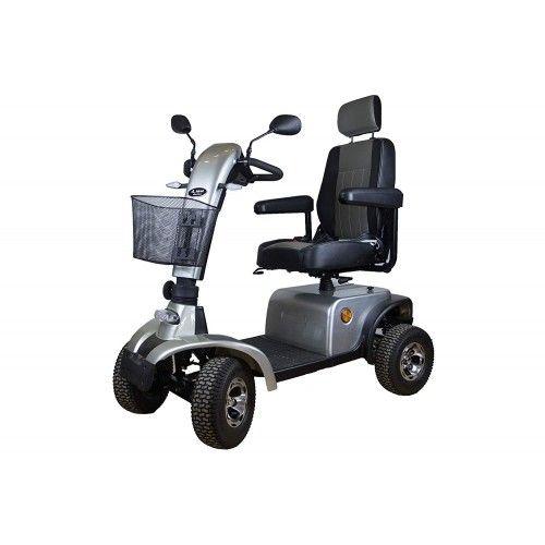 Scooter elettrico per la mobilità con motore da 900 W con 4 ruote e luci Airel - 1