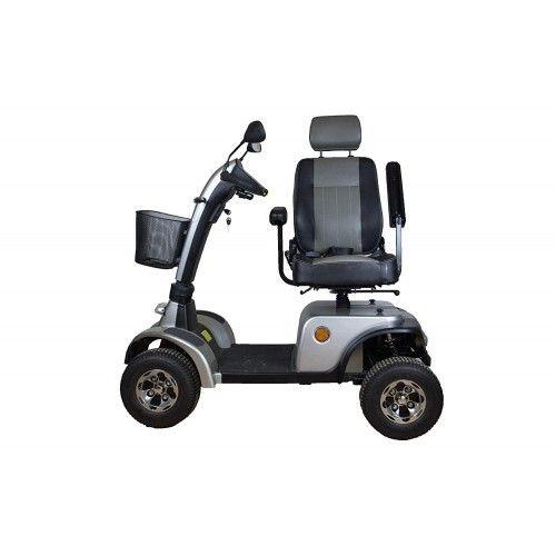 Scooter elettrico per la mobilità con motore da 900 W con 4 ruote e luci Airel - 2
