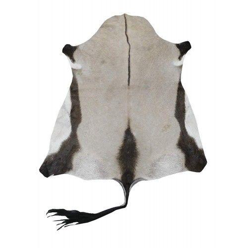 Tappeto in pelle di orice africano naturale misura 165x130 cm Zerimar - 1