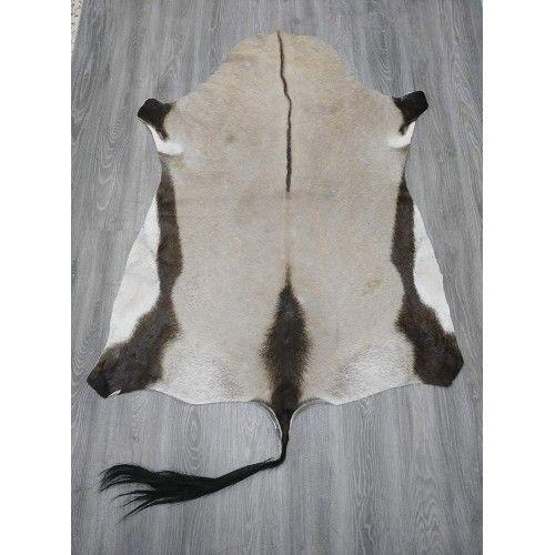 Tappeto in pelle di orice africano naturale misura 165x130 cm Zerimar - 2