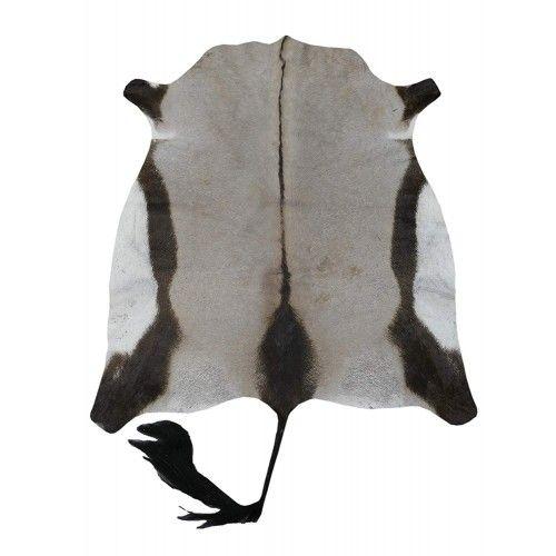 Tappeto in pelle di orice africano naturale 150x125 cm Zerimar - 1