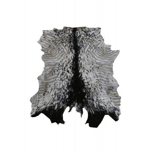 Tappeto in pelle di capra naturale 80x70 cm Zerimar - 1