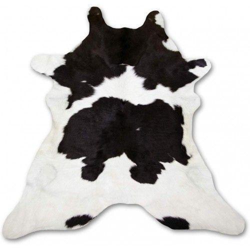 Tappeto in pelle di vitello naturale 110x95 cm Zerimar - 1