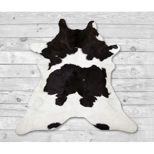 Tappeto in pelle di vitello naturale 110x95 cm Zerimar - 2