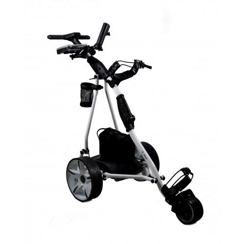Carrello da golf elettrico pieghevole a 3 ruote - Batteria gel Airel - 1