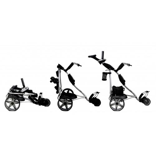 Carrello da golf elettrico pieghevole a 3 ruote - Batteria gel Airel - 2