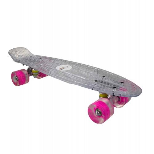Skateboard con bordo...