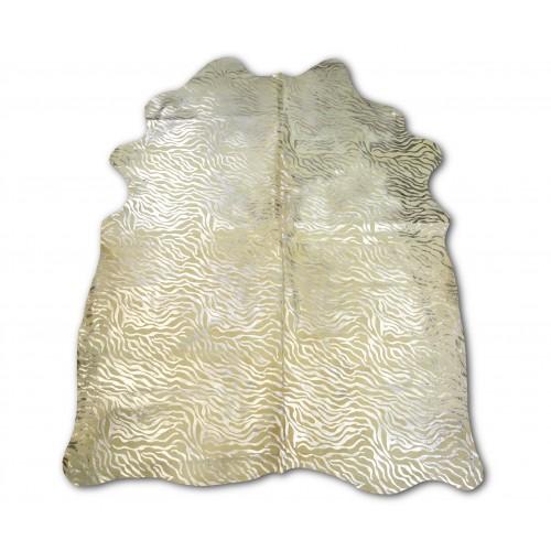 Tappeto in vacchetta naturale 215x170 cm animal print Zerimar - 1