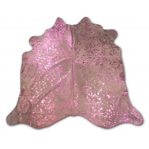 Tappeto in pelle di vacchetta naturale SILVER 205x210 cm Zerimar - 1