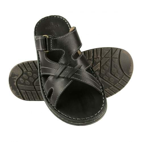 Sandali in pelle modello CARONTE Zerimar - 1