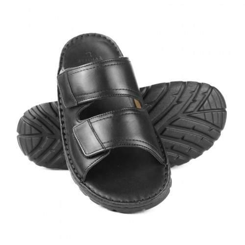 Sandalo in pelle modello CERBERO Zerimar - 1