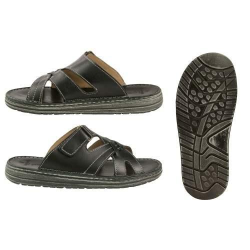 Sandali in pelle modello CARONTE Zerimar - 2