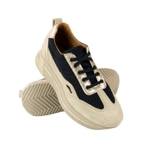 Sneakers in pelle abbinate a platform modello RAID Zerimar - 1