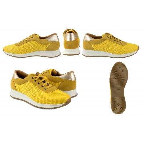 Sneakers in pelle abbinate al modello FLY platform Zerimar - 2