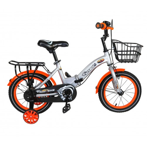 Bicicletta pieghevole per bambini da 14-18 pollici con cesto Airel - 2