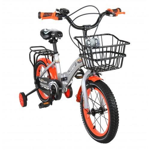 Bicicletta pieghevole per bambini da 14-18 pollici con cesto Airel - 1