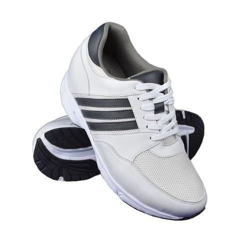 Scarpe sportive bianche con...